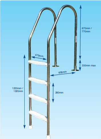 Decking Ladder