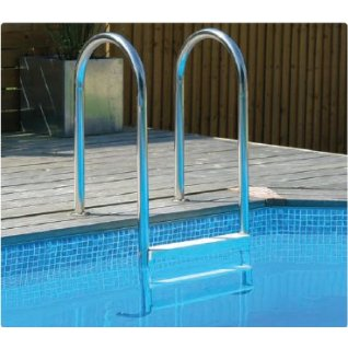 Wooden Pool Ladder
