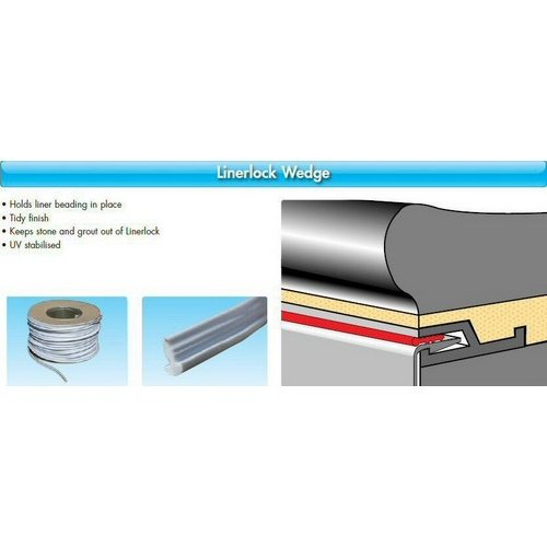 Liner Lock Accessories / LINERLOCK  WEDGE 50m Roll