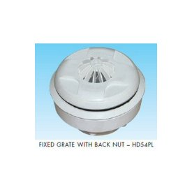 Fixed Grate Inlet for Panel Pools with back nut (HD54PL)