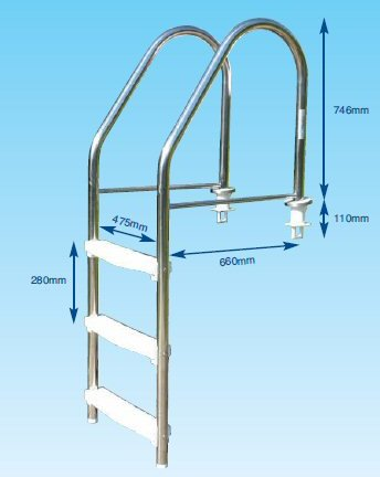 Liner Peg Type Ladder