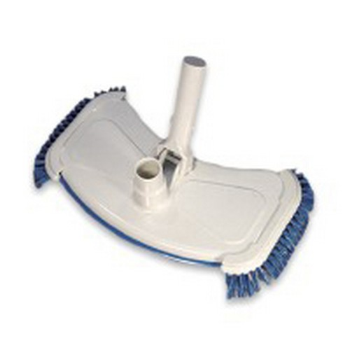 Vac Head with side bristles for liner pools