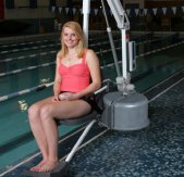 Disabled Pool Hoists