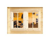Log Cabin Accessories - Double Window